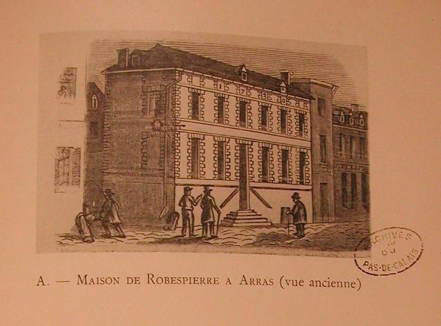 Maison de Robespierre. Arras