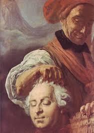 """Résultat de recherche d'images pour """"bourreau montrant la tête de Louis XVI"""""""